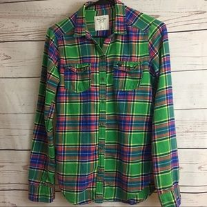 Abercrombie & Fitch long sleeve fleece shirt